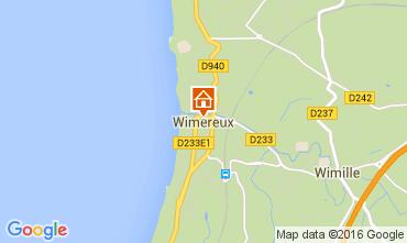 Map Wimereux House 70960