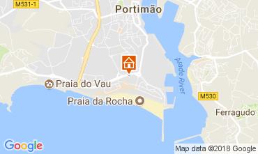 Map Praia da Rocha Apartment 113105