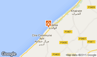 Map Oualidia Villa 30242
