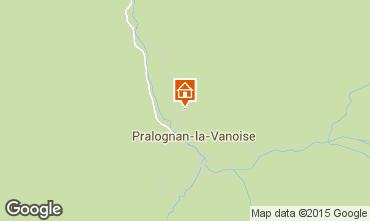 Map Pralognan la Vanoise Apartment 91916