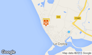 Map Le Crotoy Apartment 31199