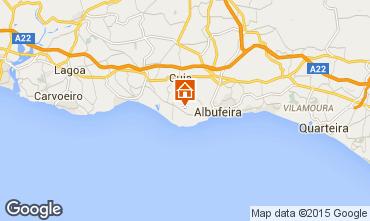 Map Albufeira Apartment 70603