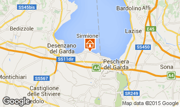 Map Sirmione Apartment 53164