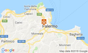 Map Palermo Studio apartment 56253