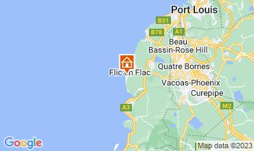 Map Flic-en-Flac Apartment 55358
