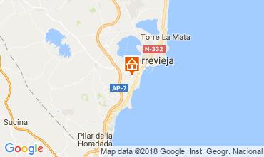 Map Torrevieja Apartment 115074