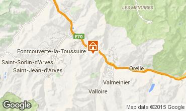 Map Les Karellis House 1427
