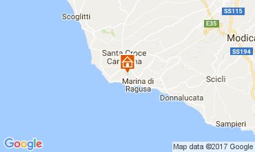 Map Marina di Ragusa Apartment 109156