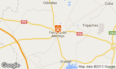 Map Ferreira do Alentejo Self-catering property 99488