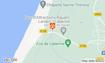 Map Labenne Océan Mobile home 119369