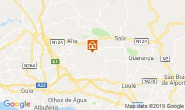 Map Loulé Self-catering property 69430