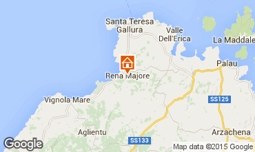 Map Santa Teresa di Gallura Apartment 99065