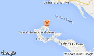 Map Les Portes-en-Ré House 5037