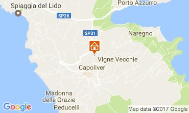 Map Capoliveri Apartment 109213