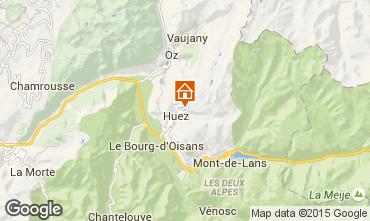 Map Alpe d'Huez Studio apartment 38943