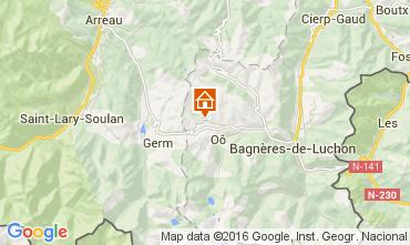 Map Luchon Superbagneres Chalet 38731