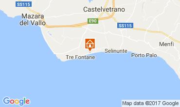 Map Tre Fontane Apartment 107968