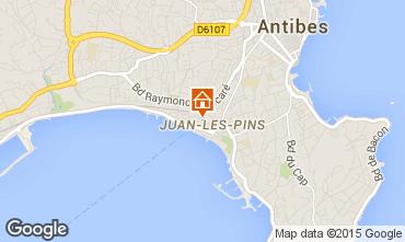 Map Juan les Pins Apartment 78148