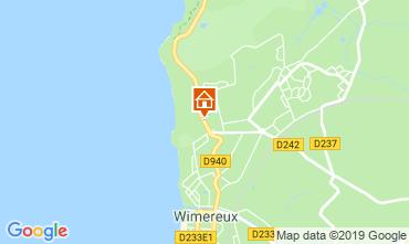 Map Wimereux Apartment 19715