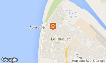 Map Le Touquet Apartment 21640