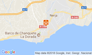 Map Nerja Studio apartment 115902