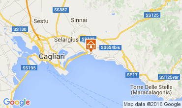 Map Cagliari Apartment 103717