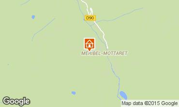 Map Méribel Apartment 67018