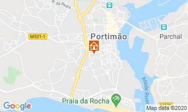 Map Portimão Studio apartment 108139