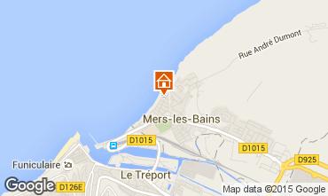 Map Mers Les bains Apartment 78411