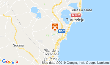 Map Torrevieja House 104261