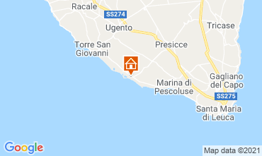 Map Lido Marini House 85090