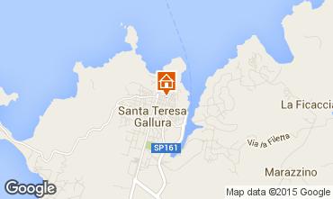 Map Santa Teresa di Gallura Apartment 99025