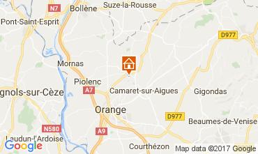 Map Orange Self-catering property 112418