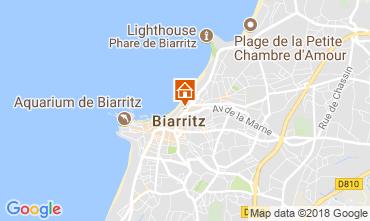 Map Biarritz Studio apartment 112149