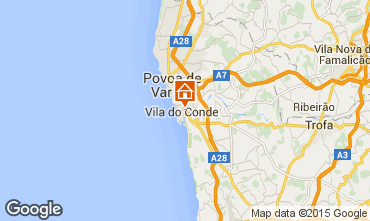 Map Vila do Conde Apartment 75568