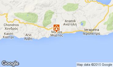 Map Ierapetra Apartment 100687