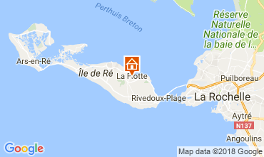 Map La Flotte en Ré House 17085