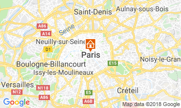 Map PARIS Apartment 115578