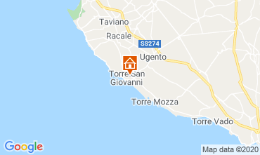 Map Ugento - Torre San Giovanni Apartment 118740