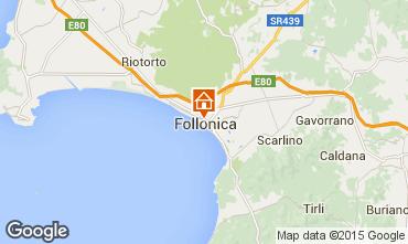 Map Follonica Apartment 76470