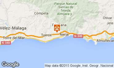 Map Nerja Villa 90036