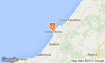 Map Isola Rossa Apartment 85297
