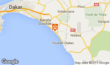 Map Toubab Dialaw Villa 65531