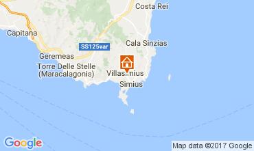 Map Villasimius House 110882