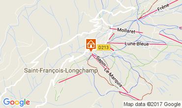 Map Saint François Longchamp Apartment 112015