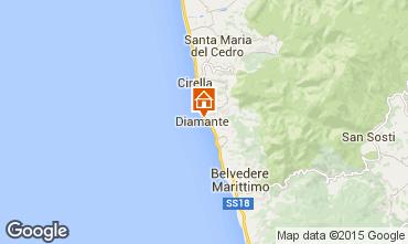 Map Diamante Studio apartment 34805