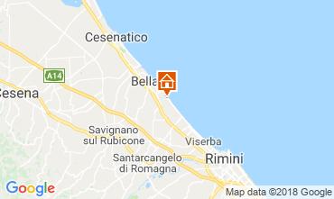 Map Bellaria Igea Marina Apartment 82159