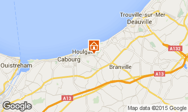Map Cabourg Apartment 10784