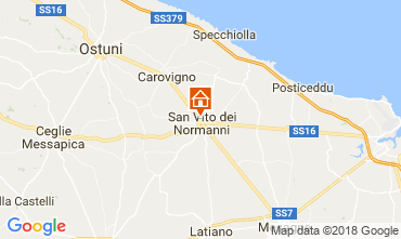 Map Ostuni Villa 95258