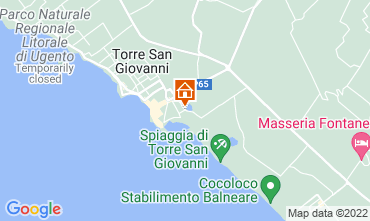 Map Ugento - Torre San Giovanni Apartment 118742